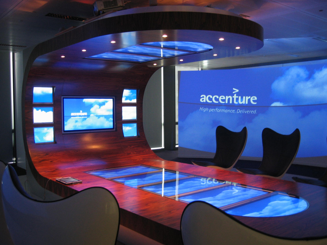 Interior Design Bangalore Accenture Blass Design