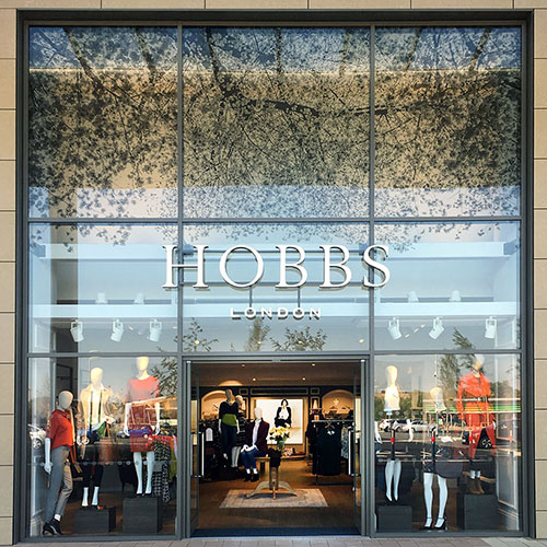 HOBBS 01_Rushden Lakes_London_Interior Design_Shopfront_Retail
