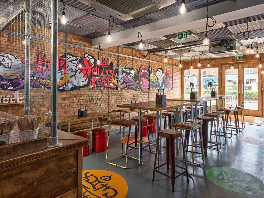 WingShack 01_Loughton_Chicken_Wings_Interior Design_Graffiti