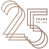 blass - 25 years in design logo